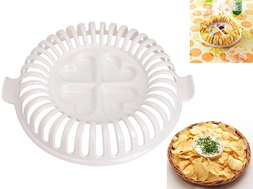 Sumchimamzuk Mikrowellen Kartoffel Chips Maker