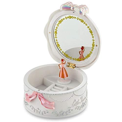 BALLYE Spieluhr Mädchen Musik Schmuckschatulle Ballerina Spinning Spieluhr Grammophon Spielzeug Kindergeburtstagsgeschenk Spieluhren