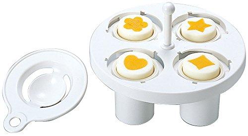 Hart Gekochte Eierform Zum Erstellen Von Formen Mit Eigelb, Hergestellt in Japan
