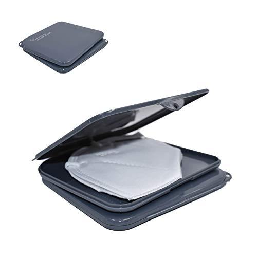 L+H 2X Maskenbox für Mundschutz im Set | Aufbewahrungsbox für Masken | Maskenboxen ideal zur Aufbewahrung von Masken zur Vermeidung von Maskenverschmutzung |...