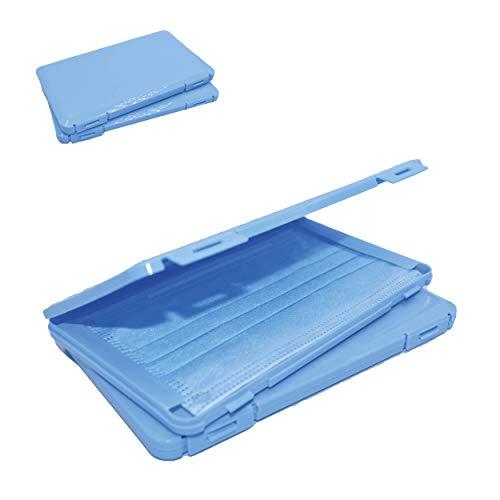 2X Maskenbox für Mundschutz im Set | Aufbewahrungsbox für Masken | Maskenboxen ideal zur Aufbewahrung von Masken zur Vermeidung von Maskenverschmutzung |...