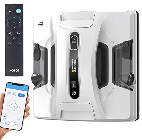 Sichler Exclusive Fensterroboter: HOBOT-2S Profi-Fensterputz-Roboter, Dual-Sprüher, Sprachausgabe, App (Sichler Hobot)