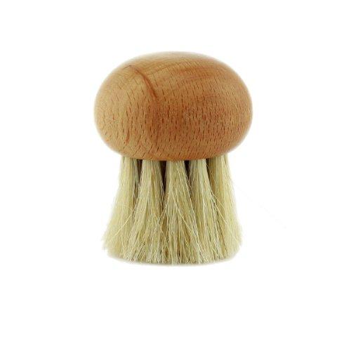 Bürste Champingionsbürste mit rundem Kopf - Pilzbürste
