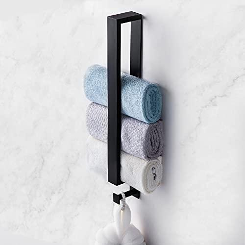 Wixann Selbstklebend Handtuchhalter Ohne Bohren Gästehandtuchhalter, 40 cm Edelstahl Handtuchstange für Badezimmer