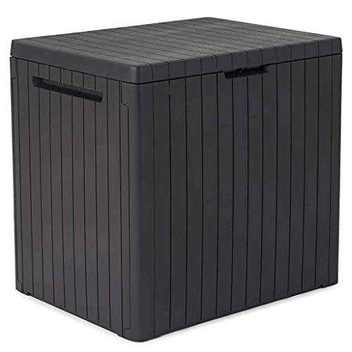 Auflagenbox 113L Kissenbox Gartenbox Gartentruhe Beistelltisch Truhe