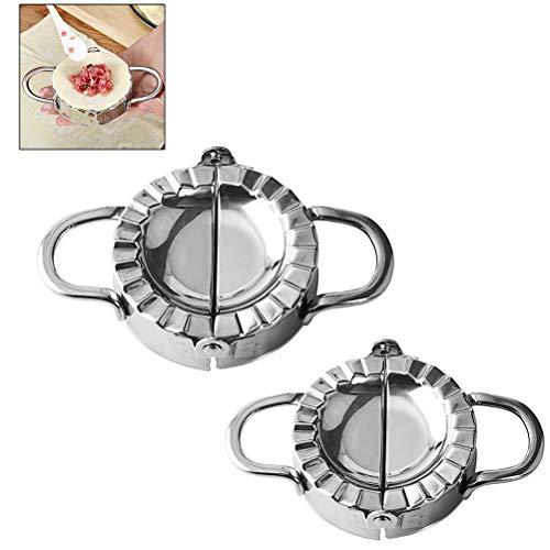 Knödelform, Edelstahl Knödel Teigform machen Obstkuchenpresse Gebäck Küchengeräte zum Kochen
