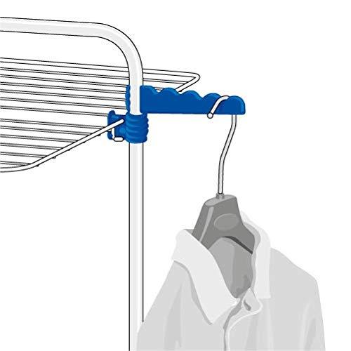 GimiTurmwäscheständer Modular 3, weiß/blau