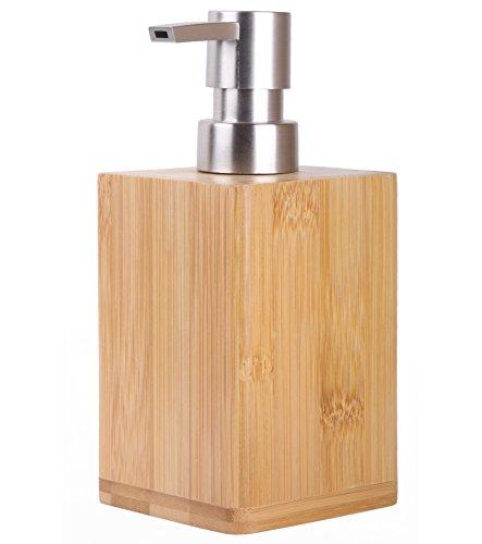 Seifenspender Bambus | stylisches Design | schöner Blickfang im Badezimmer