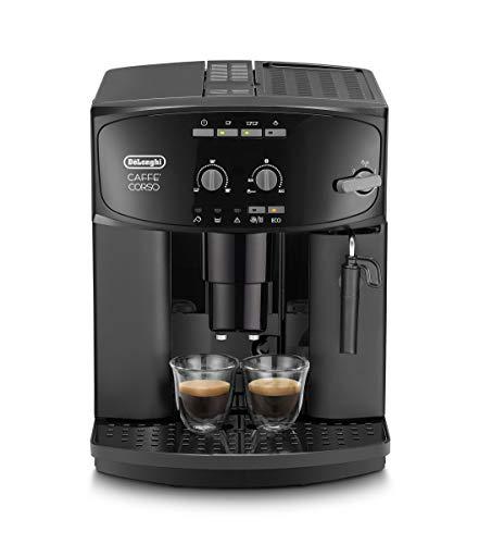 De'Longhi Caffé Corso ESAM 2600 Kaffeevollautomat mit Milchaufschäumdüse für Cappuccino, mit Espresso Direktwahltaste und Drehregler, 2-Tassen-Funktion,...