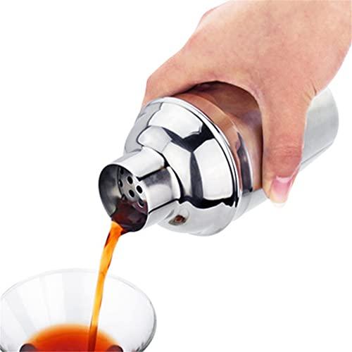 ZLDGYG Edelstahl-Cocktail-Shaker Set 550 / 750ml Shaker Cup Cocktail-Kit-Becher-Werkzeuge Mit 15/30 Ml Messbecher (Size : 550ML15 30ML)
