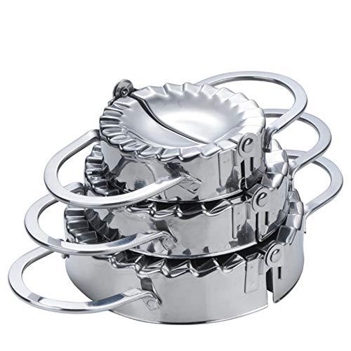 Hochwertigen Edelstahl Ravioli Ausstechformen, FantasyDay 3er Set Knödel-Hersteller Pierogie Ravioliformer Knödelform Tortellini Form- Ravioli-Stempel,...