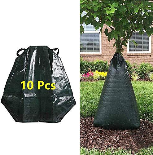 MJEDC 10 Stück Bewässerungsbeutel für Bäume, 20 Gallonen Bewässerungssack für Bäume, Baumbeutel Bewässerungsbeutel für Bäume zur langzeit...
