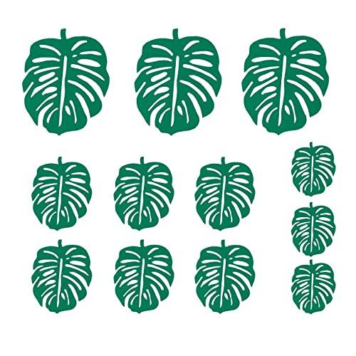Pfannenschoner, 12 Stücke Filz Pot Pan Protektoren Palm Blätter Kaktus Form Schützen Kratzen Separator Kochgeschirr Oberflächen Für Home Küche Liefert...