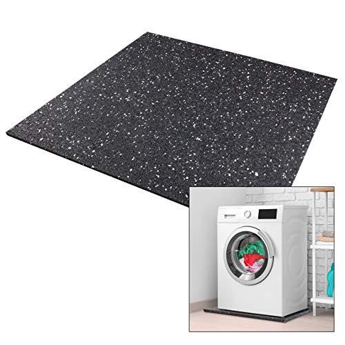 kör4u® Premium Antivibrationsmatte | 60x60x1 cm | geeignet als Waschmaschinenunterlage, Schallschutzmatte, Gummimatte, Schwingungsdämpfer - zuschneidbar |...