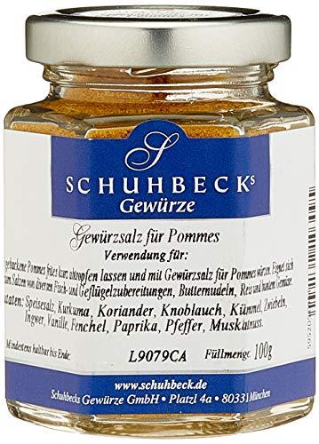 Schuhbecks Gewürzsalz für Pommes, 3er Pack (3 x 100 g)