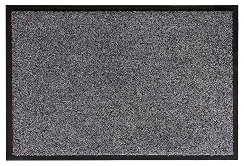 andiamo Schmutzfangmatte Fußabtreter Türmatte Fußmatte Sauberlaufmatte Schmutzabstreifer Türvorleger – Eingangsbereich In/Outdoor – rutschhemmend...