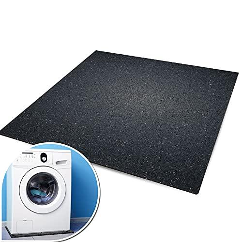 kör4u® Premium Antivibrationsmatte   60x60x1 cm   geeignet als Waschmaschinenunterlage, Schallschutzmatte, Gummimatte, Schwingungsdämpfer - zuschneidbar  ...