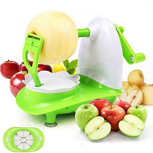 mciskin Apfelschäler&Apfelteiler,Profi-Apfelschäler und -Schneider (Apfelschälmaschine)