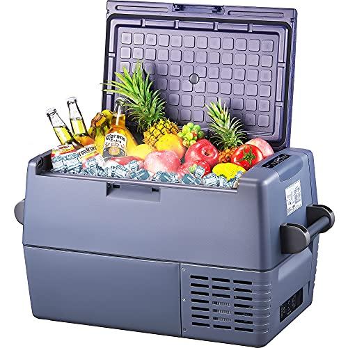 45l Auto Kühlbox -20°C~+10°C Kompressor Kühlschrank, große Kapazität, elektrische Kühlbox, 12/24V DC und 100-240V AC, für Outdoor, Fahrzeug, Camping,...