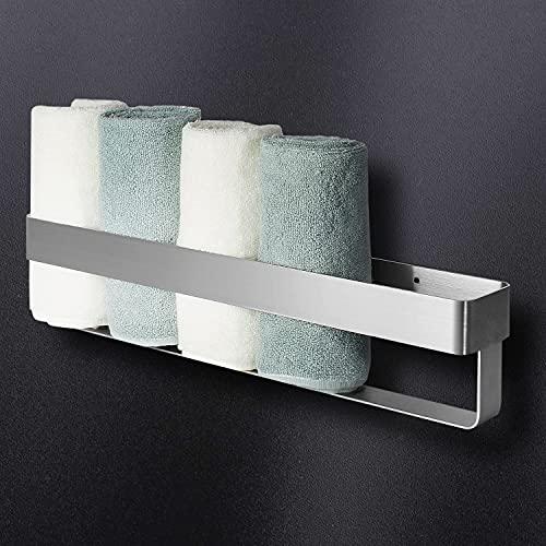 Gästehandtuchhalter, Wall Mounted Handtuchhalter 40 cm, Handtuchregal Edelstahl Gästetuchhalter für Badezimmer