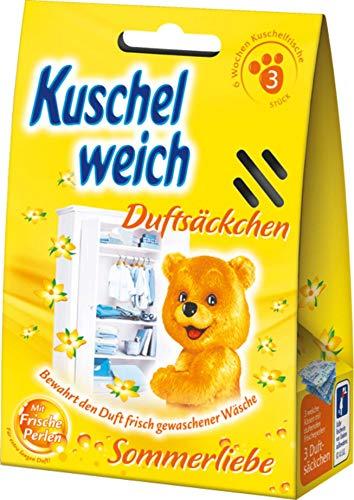 Kuschelweich Sommerliebe Duftkissen Duftsäckchen 3ER