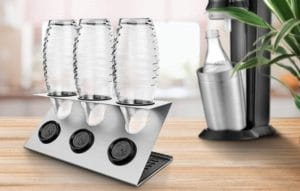 Sodastream Flaschenhalter und Abtropfständer