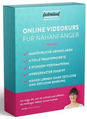 Online Nähkurs für Anfänger von Fadenlauf