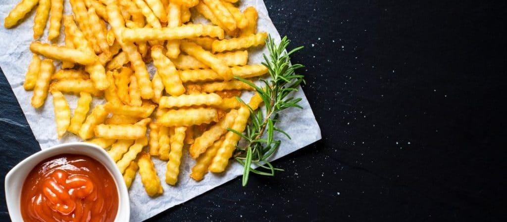 Wellenschneider für Gemüse und Kartoffeln