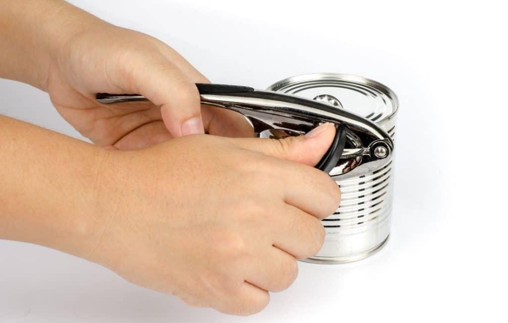 Dosenöffner: Konserven leichter öffnen