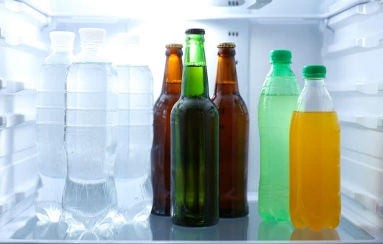 flaschenkühlschrank für getränke