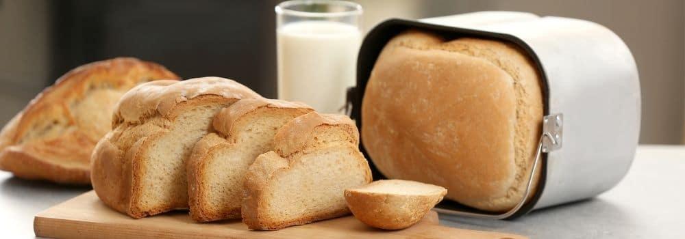 Weizenbrot aus dem Brotbackautomaten
