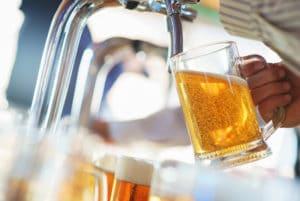 Bier Zapfanlage