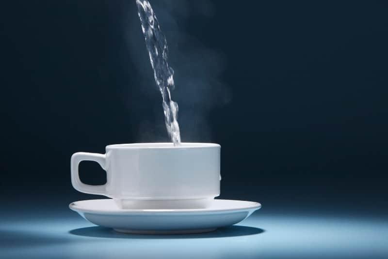 Heißwasserspender