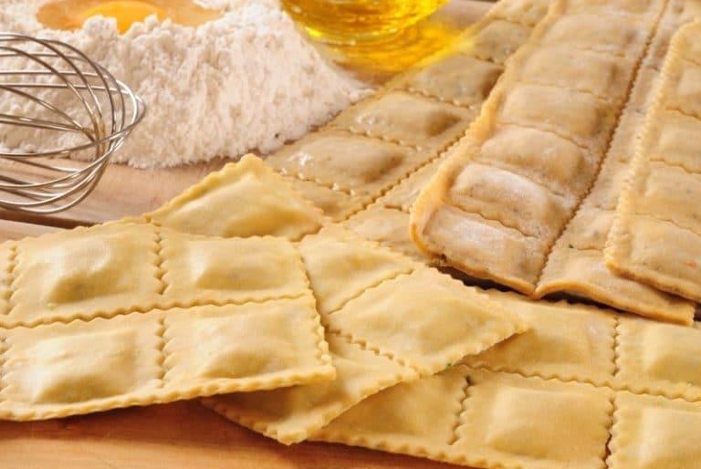 Ravioli Form und Ravioli Maker