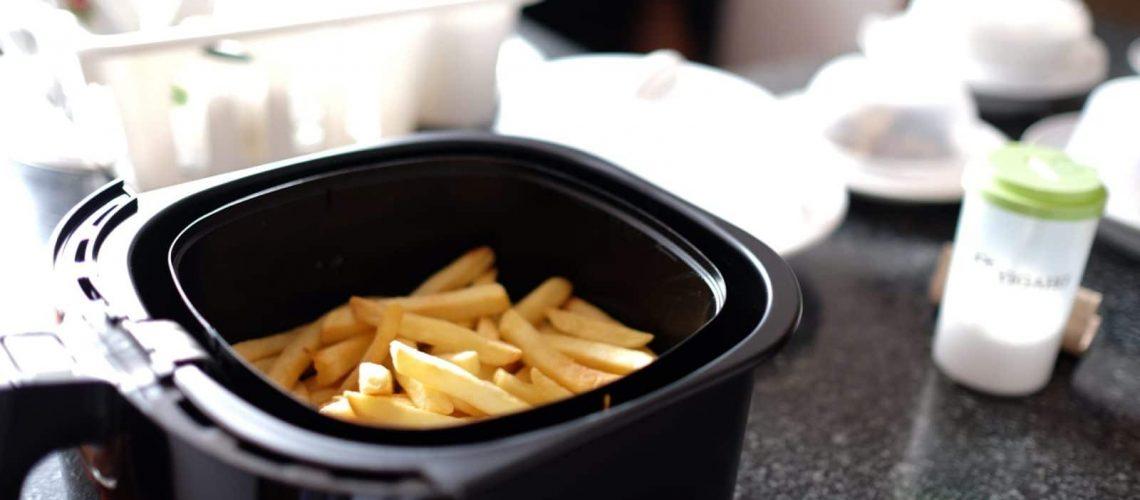 Pommes aus der Heißluftfritteuse (2)
