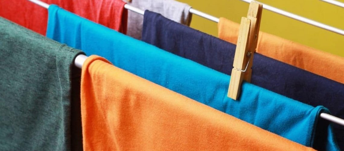 Turmwäscheständer zum Wäsche trocknen